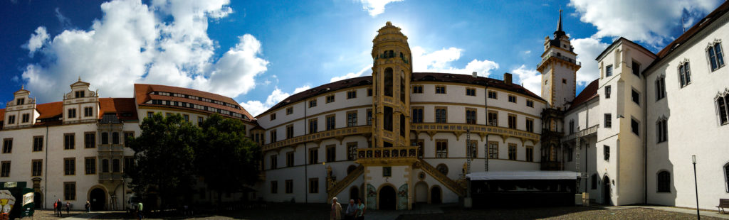 Ostflügel des Schloss Hartenfels