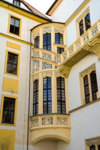 Erker im Schloss Hartenfels