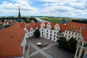 Innenhof Schloss Hartenfels