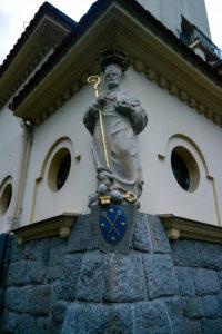 Bischof Benno in der St-Benno-Kirche Bischofswerda