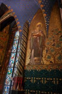 Benno in der Kapelle der Albrechstburg Meißen