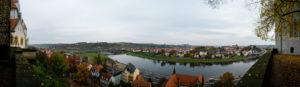Blick von der Albrechtsburg auf die Elbe