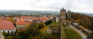 Blick von der Burg Stolpen