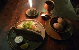 Fisch und Wein - Bennos Spuren zu Tisch
