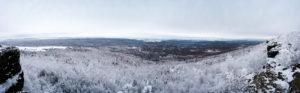 Dresdner Aussicht auf dem Hohen Schneeberg
