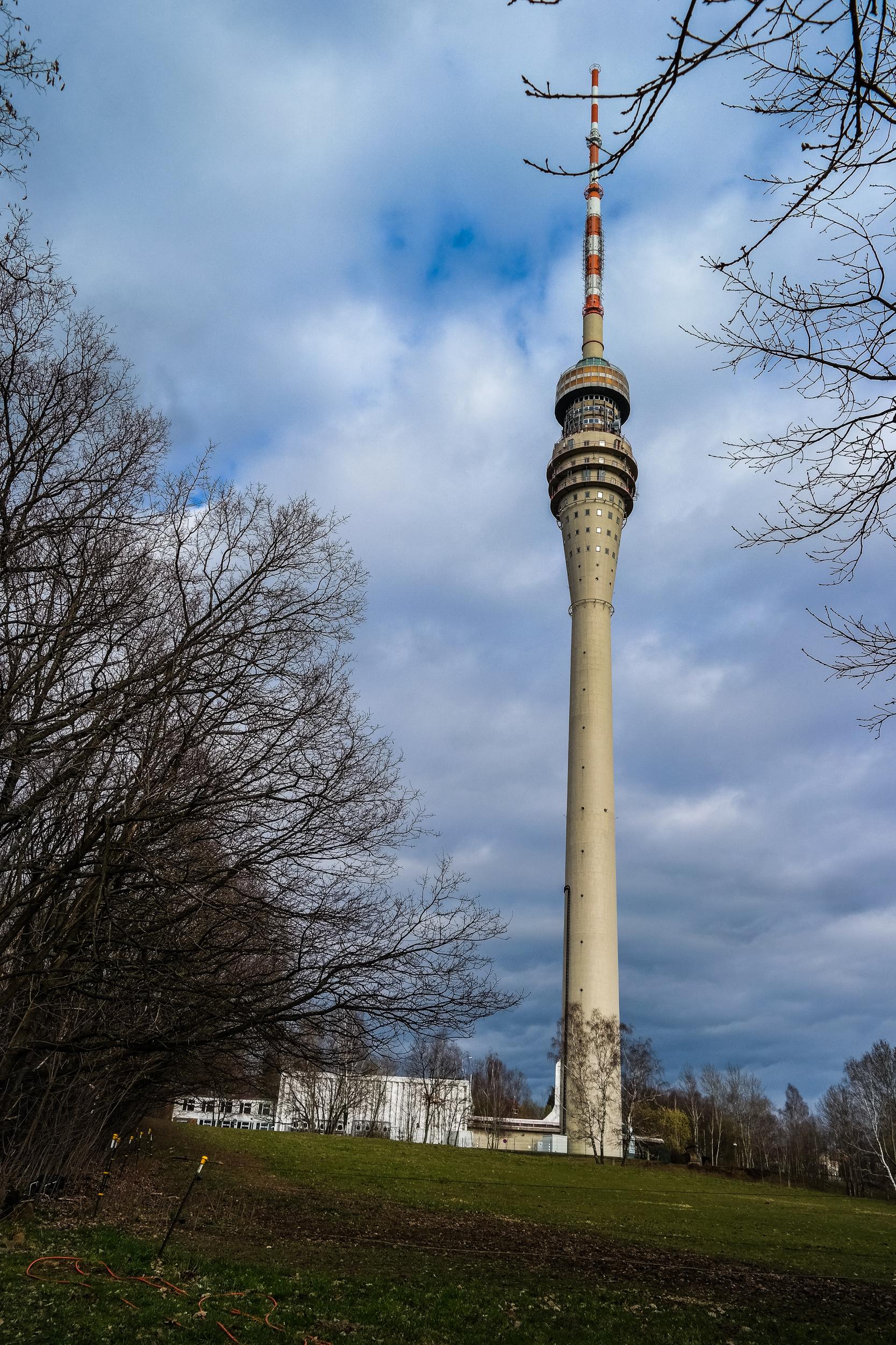 Eine kleine Runde zu einer von Dresdens schönsten Aussichten ...