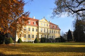 Schloss- Herbst Rückansicht