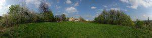 Auf dem Dohnaer Burgplateau