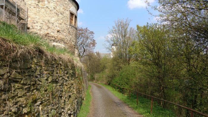 Burg in Dohna