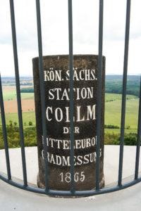 Königlich Sächsische Triangulierung auf dem Collmberg