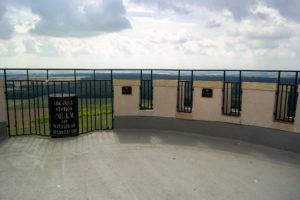 Aussichtsplattform auf dem Alberturm, Collmberg