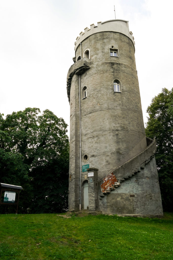 Albertturm auf dem Collmberg
