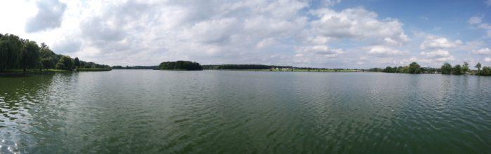 Blick auf den Horstsee bei Wermsdorf