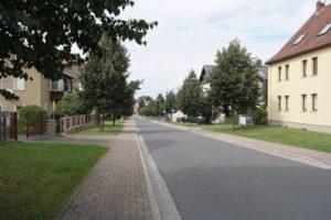 """""""Verkehrsberuhigte Zone"""" in Wermsdorf"""
