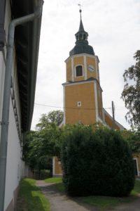 Kirche in Wermsdorf
