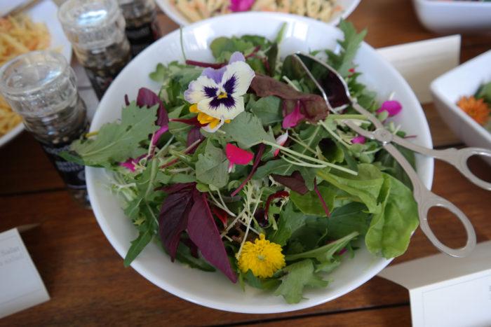 Salat vom Grillbüffett