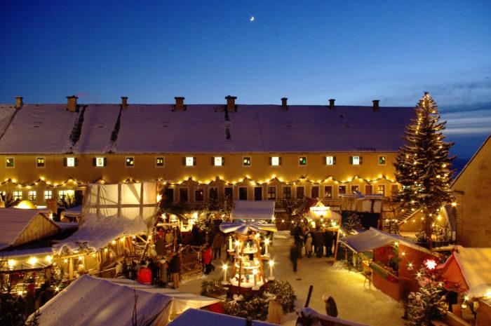 Weihnachtsmarkt der Festung Königstein © Festung Königstein gGmbH