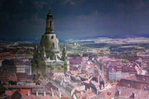 Frauenkirche im Panometer Dresden
