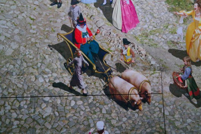 Detailszene aus Dresden im Barock - Panometer