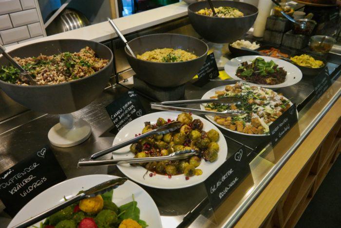 Frisches Essen im Sproutfood Dresden