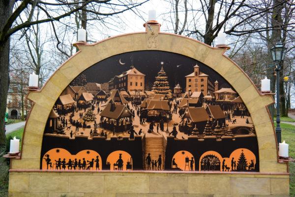 Schwibbogen der Festung Königstein