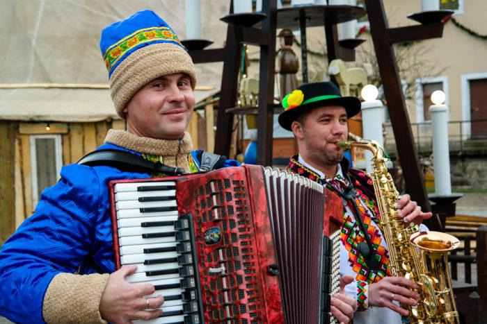 Dawai, Dawai - russische Folkloreband auf der Festung Königstein