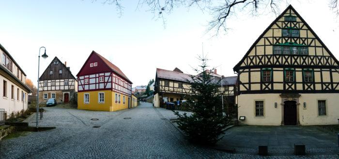 Altstadtpanorama in Hohnstein