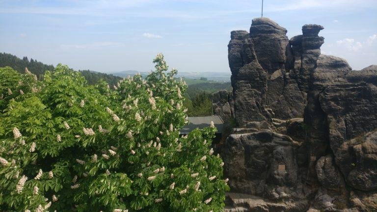 Blick vom Nonnenfelsen