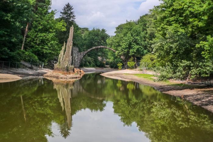 Die Rakotzbrücke im Kromlauer Park