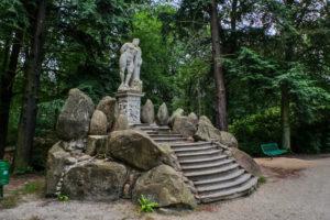 Herkulesstatue im Kromlauer Park