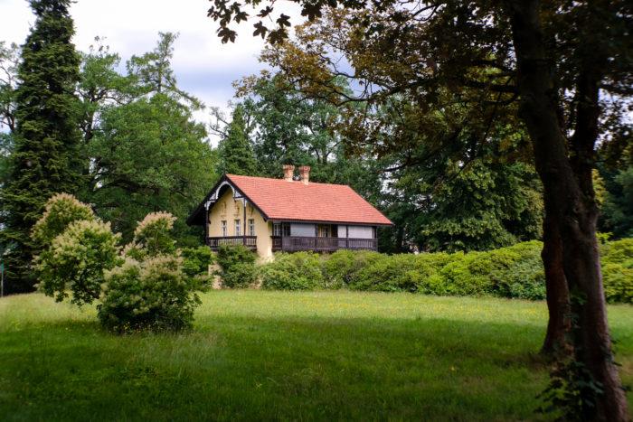 Kavaliershaus im Azaleen- und Rhododendronpark Kromlau