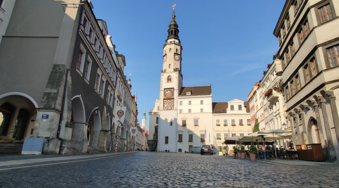 Untermarkt mit Görlitzer Rathaus