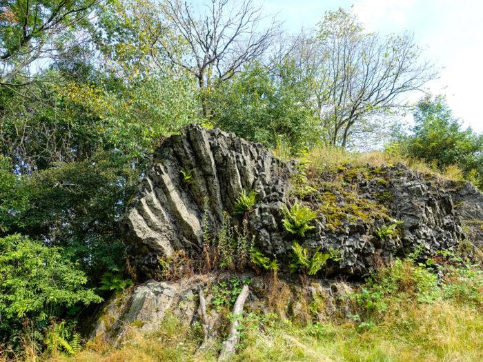 Basaltsäulenformation auf dem Bubenik