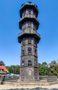 Gusseiserner Turm auf dem Löbauer Berg