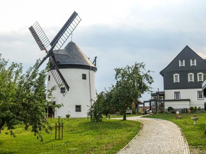Übernachtungsmöglichkeit: Windmühle in Sohland am Rotstein